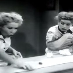 I Love Lucy Chocolate Scene